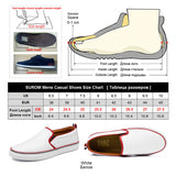 Men's White Color Loafers Split Leather Comfortable Walking Shoes Platform Flats Slip-On Shoes
