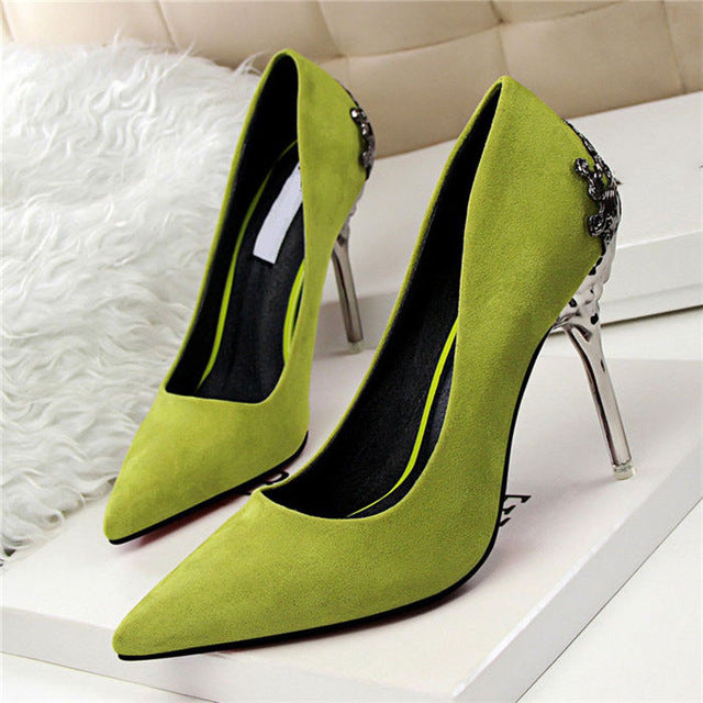 67a83041469 ... High Heels Shoes Women Pumps Red Gold Silver High Heels Shoes Wedding  Party Shoes ...