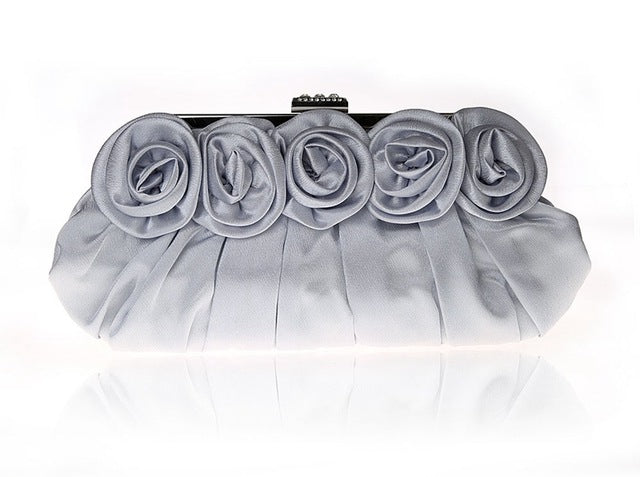 Women Clutch Bags Beads Evening Exquisite Beaded Embroidered Wedding Party Bridal Handbag