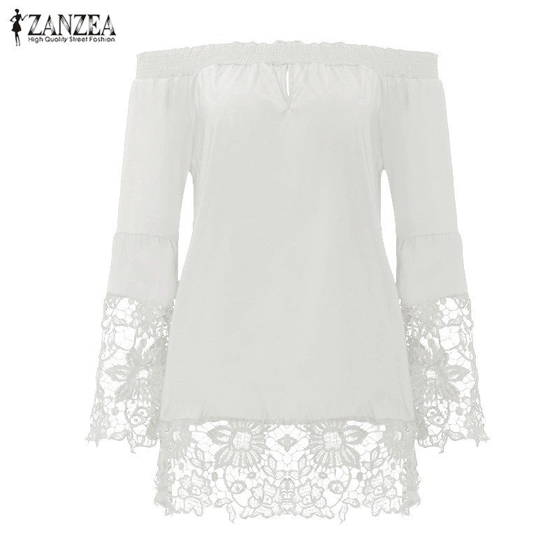 Women Loose Summer Floral Flare Sleeve Cardigan Blouse Half Sleeved Tops Shirts