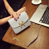 New trend women handbags simple flap retro Korean version shoulder bag chain woman messenger bag