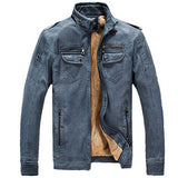 Winter Fashion men's coat, men's jackets, men's leather Jacket Overcoat