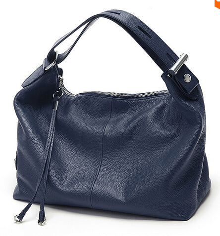 Vogue Star Fashion Real Genuine Leather OL Style Women Handbag Tote Ladies Shoulder Bags
