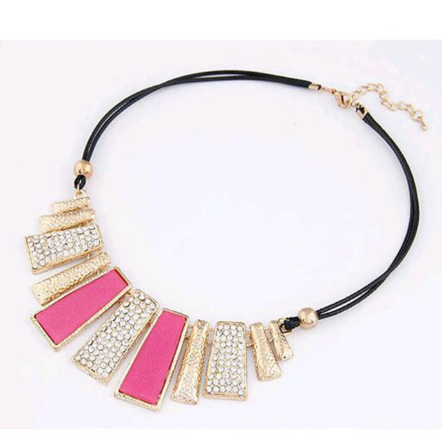Statement Necklaces & Pendants Collier Women Boho Colar Vintage Maxi Accessories Jewelry Collar - Jewelry