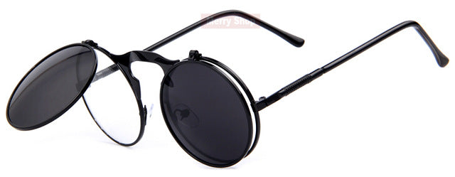 Round Designer Metal OCULOS COATING SUNGLASSES Retro CIRCLE SUNGLASSES