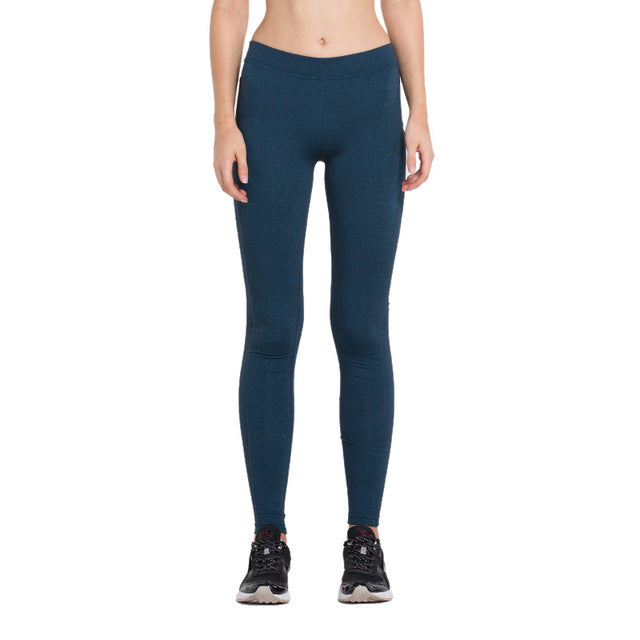 Women Running Compression Tights Hips Push Up Leggings Fitness Pants Quick Dry Elastic Trousers
