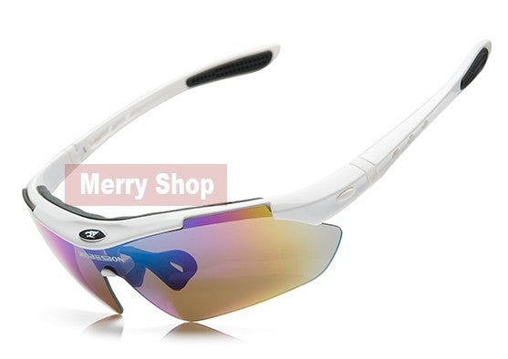 MERRY'S Men Sun glasses Mountain Protection Goggles Eyewear 5 Lens