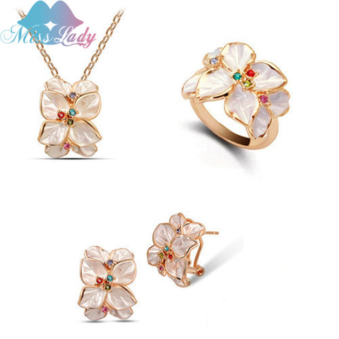 Tree of Life Rainbow Crystal Necklace
