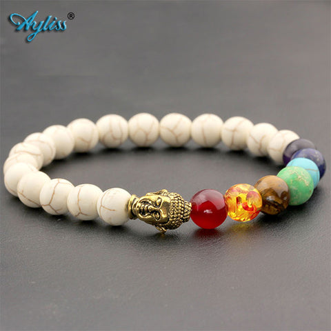 Jewelry Natural Stone Beads Charms Snake Bracelet Women Imitation Pearl Adjustable Bangle Female - Jewelry