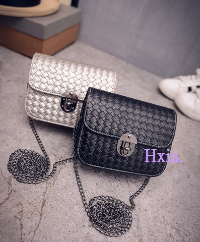 New women handbags Korean version shoulder bag chain messenger bag sweet woman bag
