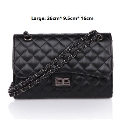 New handbags trend messenger bags single shoulder retro diamond lattice chain women bag