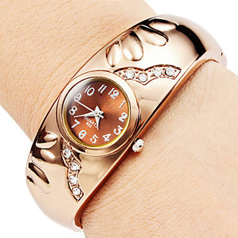Relogio Feminino Date Day Clock Female Stainless Steel Watch Ladies Casual Quartz Wrist Watches
