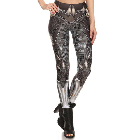 NADANBAO Brand BARBARIAN Skull Women Leggings Printed Leggings Woman Pants