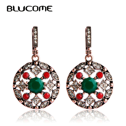 Big Rectangle Bling Zircon Stone Silver Earrings Women Cute Korean Earrings Jewelry 925 Silver