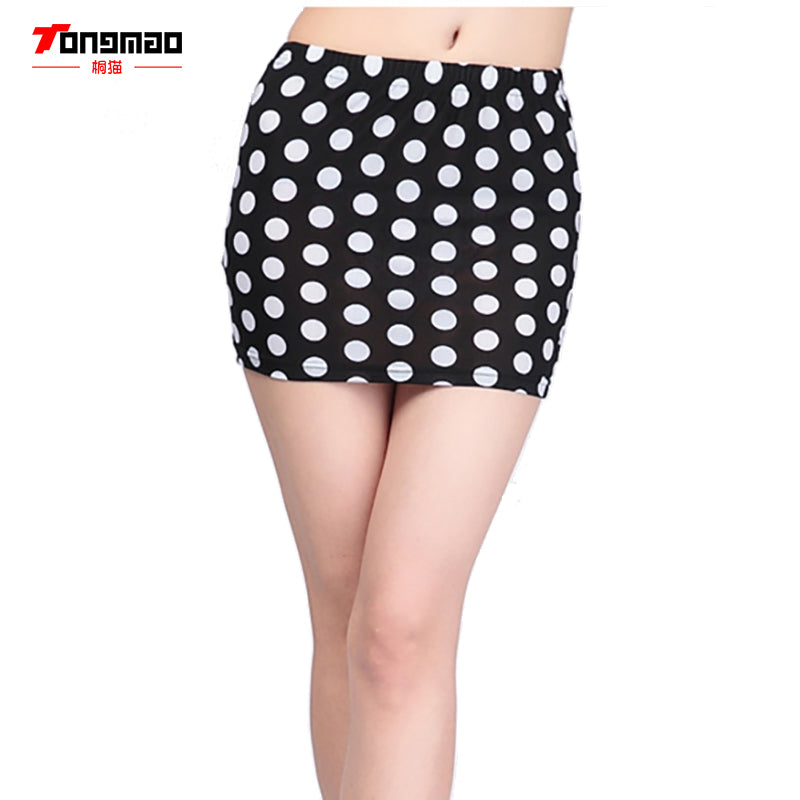 Summer Short Mini Sexy Nightclub Package Hip Step Skirt Solid Color Leopard Wild Skirt