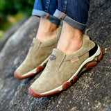 Men Shoes Genuine Leather Loafers Casual Shoes Breathable Spring Autumn Outdoor Non Slip Oxford Shoes