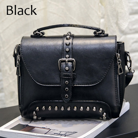 7c795164688d ... ZMQN Women Messenger Vintage Bag Ladies Famous Brand Crossbody Bag  Rivet Small Handbags ...