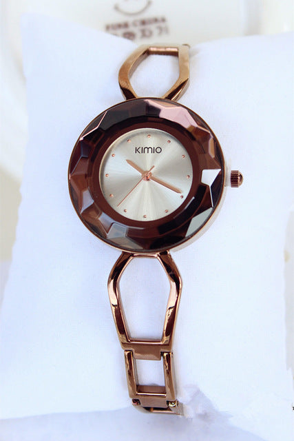 Kimio luxury Women's Unique design quartz watch Ladies Luxury Bracelet wristwatches - Jewelry