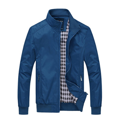 Casual Loose Men Jacket Sportswear Bomber Jackets Coats Plus Size
