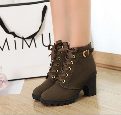Europe United States Autumn Winter High-Quality Snow Boots Warm Rough Women Boots - Shoes