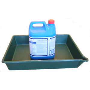 16 Litre Oil Or Chemical Spill Tray With Spout St2 Oil