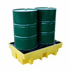 2 Drum Spill Containment Pallet - BP2