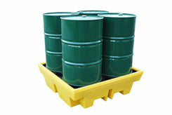 4 Drum Spill Pallet - Large Sump Capacity - BP4