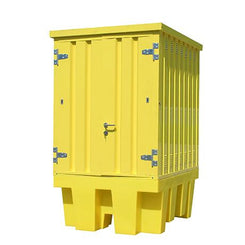 IBC Spill Pallet Hard Covered