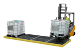 Modular low profile IBC Bund