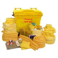 550 Chemical Spill Kit Wheeled Unit