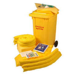 240 Chemical Spill Kit Wheeled Unit