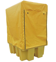 1100 litre IBC Spill Pallet Bund with cover - BB1C