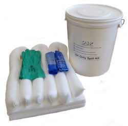 Oil Spill Kit Bucket 30 litre - OK2B