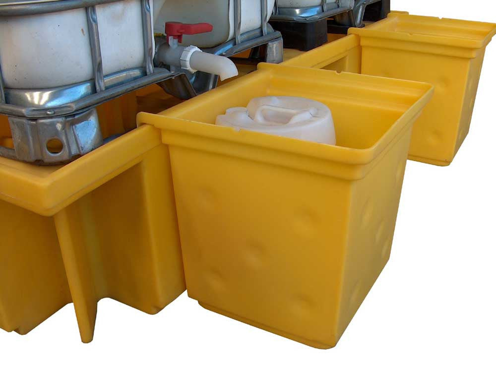 Double IBC Overflow Tray - BB4T