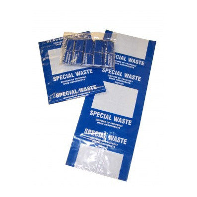 Waste Disposal Bags Blue x 10 - WDBB-10