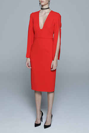 She Evolves Dress - RED Use MFW Code $199 for last 2 size 8s