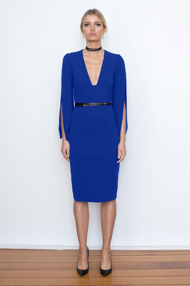 She Evolves Body Con Dress - Electric Blue - $199 - ONLY 1 X SIZE 8 & SIZE 10 & SIZE 12 LEFT