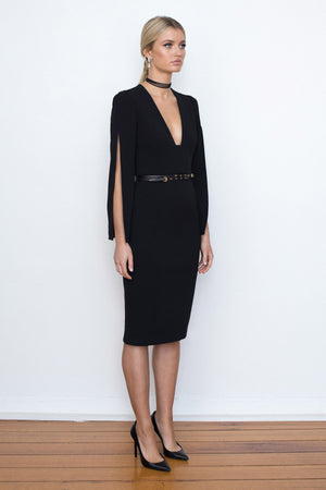 SHE EVOLVES SIGNATURE DRESS - Black