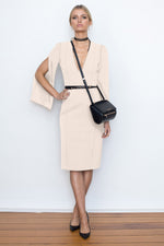 She Evolves Body Con Dress - Ballet Pink - SALE - $75 with Australia Day extra 25% Off