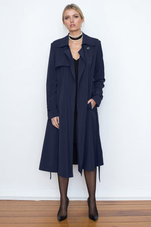 Traveller Trench - Navy