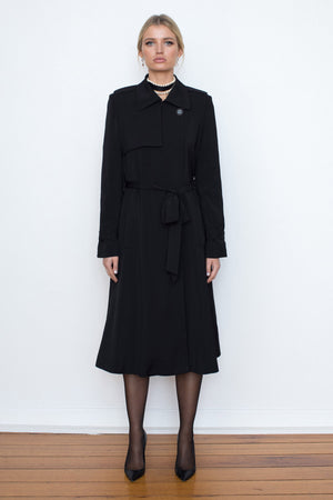 Traveller Trench - Black