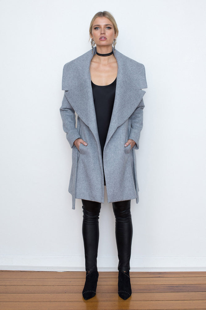 CASHMERE COCOON COAT - NOW ON SALE