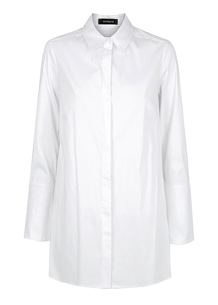 Cross Back Stretch Shirt - white - Use Code: MEXICO for $159