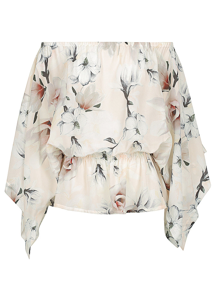 SILK One Off.  Faded Floral - ONLY ONE! till new season arrives