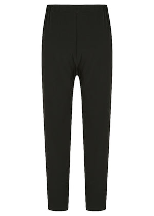 Crepe Slouch Jogger - Black - NEW ARRIVAL