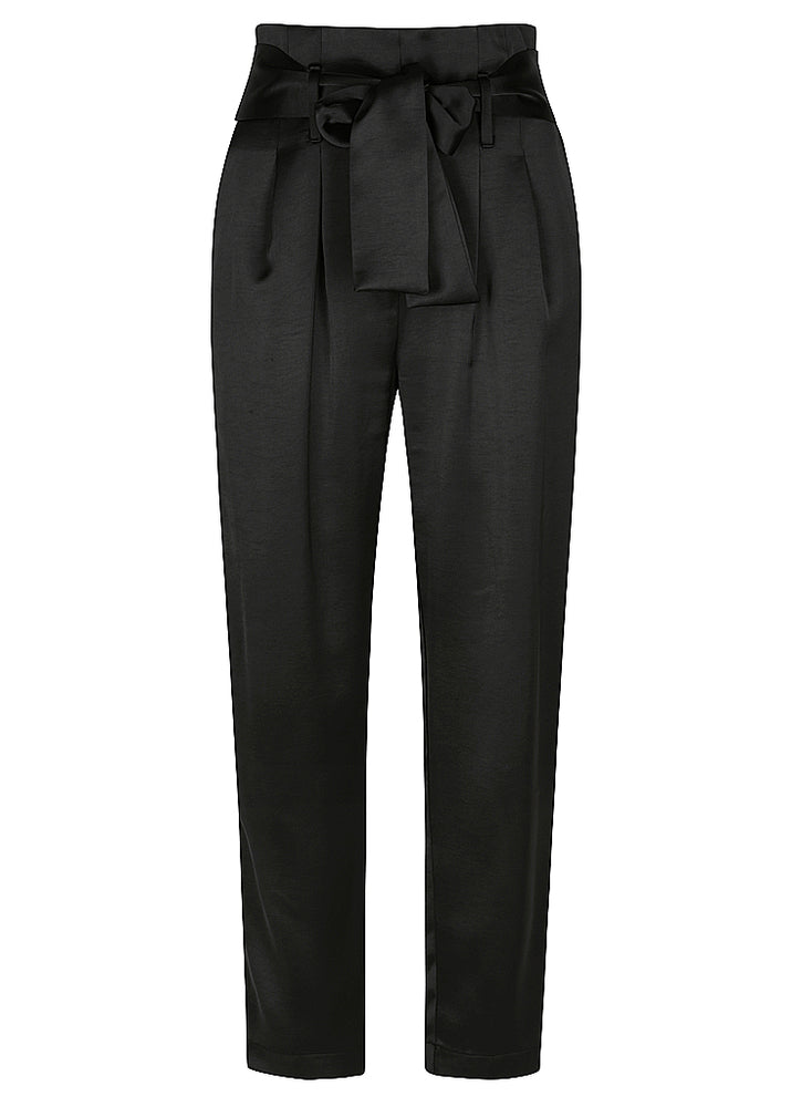 Satin Lover Harem Trouser - Black - NEW ARRIVAL