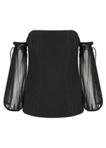 Romantic Bustier- Black - FLASH SALE - NOW ONLY $59