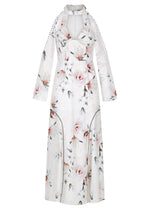 Time Stops Dress - Floral Linen- WAREHOUSE SALE - LAST CHANCE $59