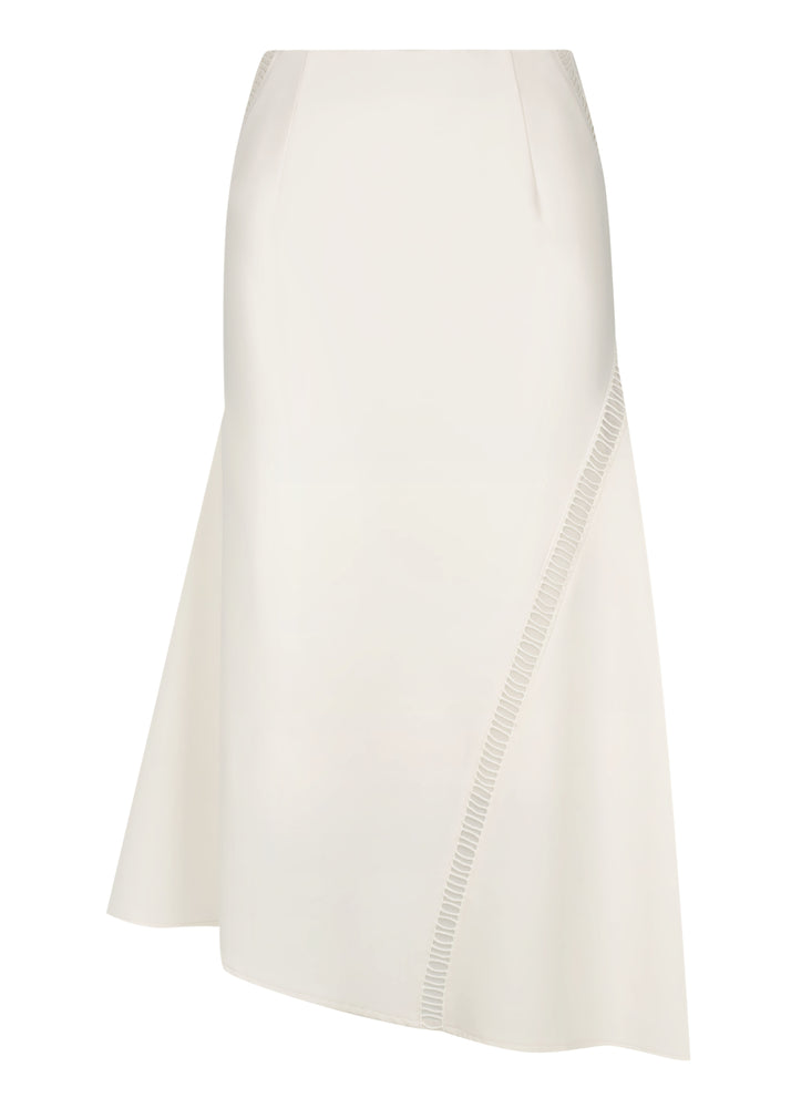 Crepe Ladder skirt - Ivory - FLASH SALE- NOW ONLY $69 - ONLY 5 LEFT NOW
