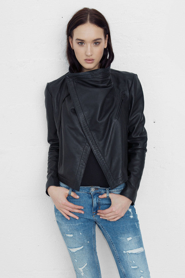 80s Leather Jacket - BACK IN STOCK